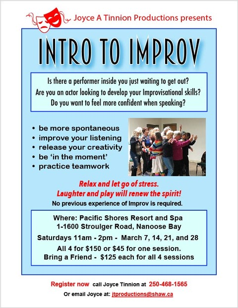 Intro To Improv' March 2020